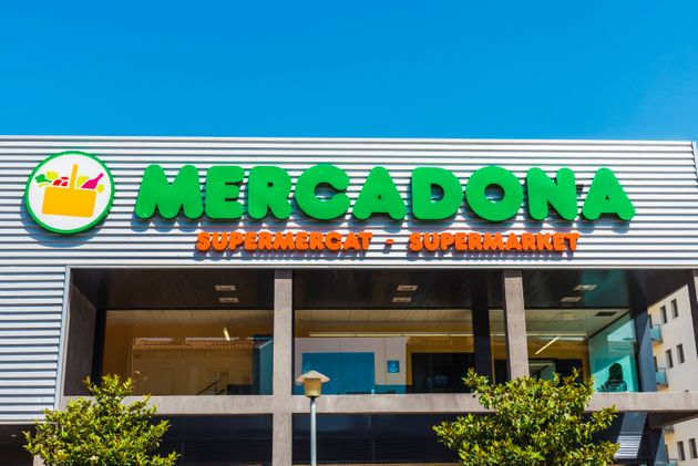 Girona, Spain - July 8, 2016: : Mercadona supermarket. This supermarket chain is sales leader in
