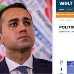 Rabbia di Di Maio contro Die Welt per l'articolo su