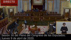 Así estaba el Congreso tras el anuncio del PP: fíjate en las