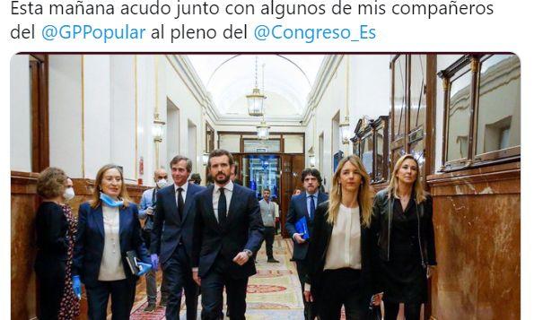 Pablo Casado y sus