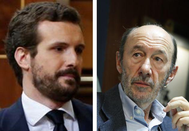 Pablo Casado y Alfredo Pérez