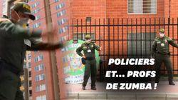 En Colombie, la police donne des cours de Zumba pour remonter le moral des