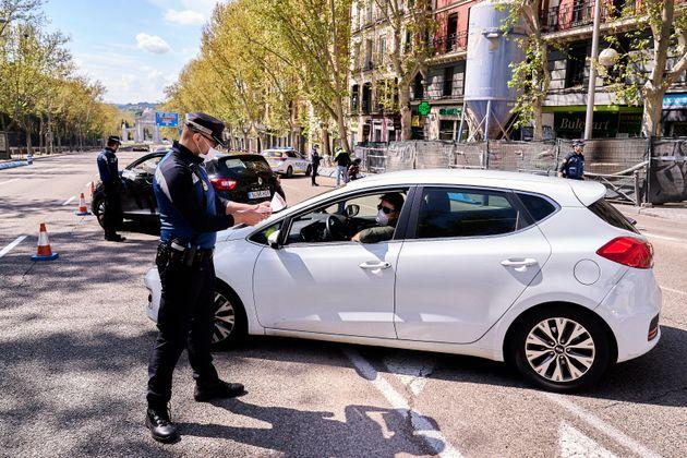 Se triplican las multas en Madrid en víspera de los festivos de Semana
