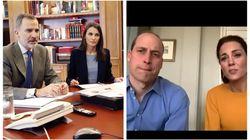 Lo que se ven en estas dos fotografías está costándole críticas a los reyes Felipe y
