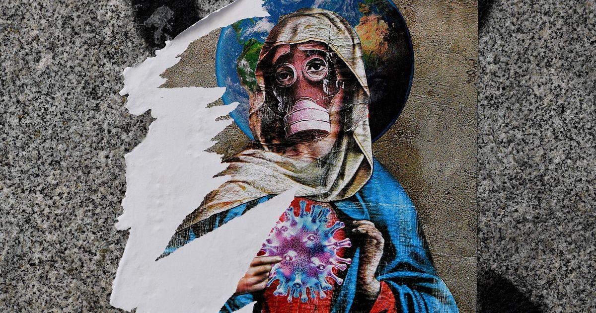 Le coronavirus vu par les street artists du monde entier