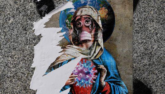 Le coronavirus vu par les «street artists» du monde