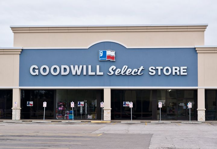 All but 16 Goodwill donation centers were closed as of April 8.