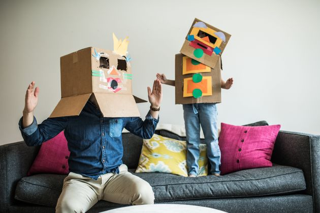 8 Simple Craft Ideas For Kids That Involve A Plain Old Cardboard Box