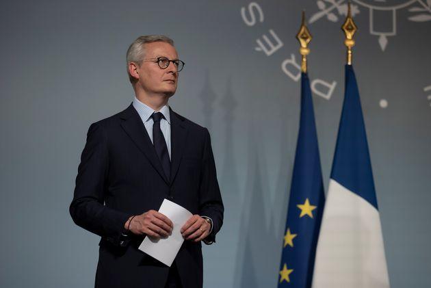 Bruno Le Maire, ici à l'Élysée le 8 avril
