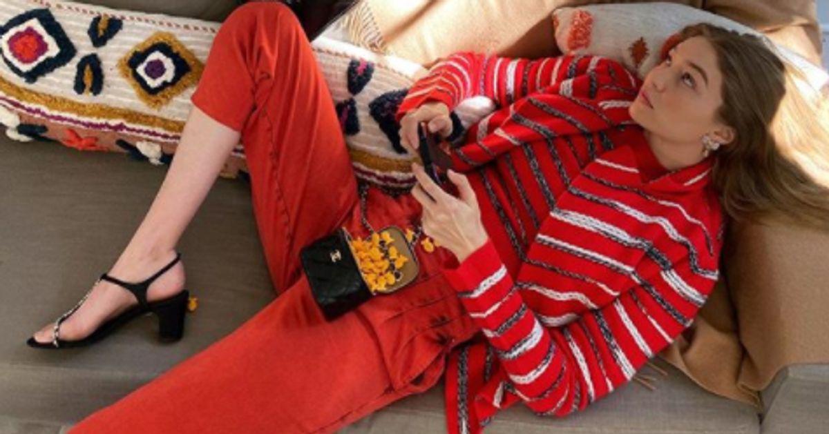 Ce shooting avec Gigi Hadid est la preuve que la mode s'adapte au confinement