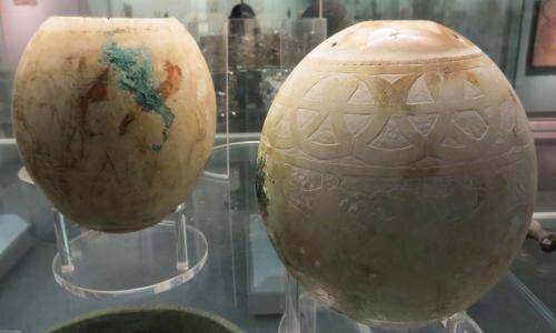 Νέες αποκαλύψεις για τα περίτεχνα αυγά στρουθοκαμήλων, ηλικίας 5.000