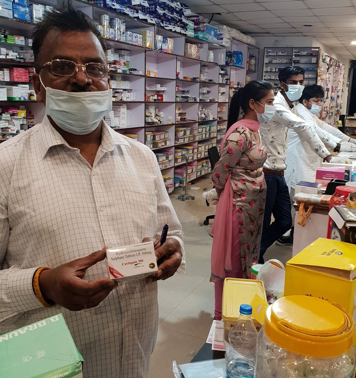 Due to shortage of Hydroxichloroquine in the country, the chemists have restricted the sale of this drug to single strip only