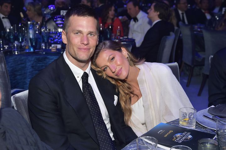 Tom Brady and Gisele Bündchen at an event in February 2019.