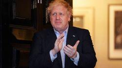 Boris Johnson sale de la