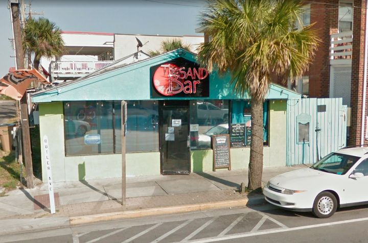 The exterior of The Sand Bar.