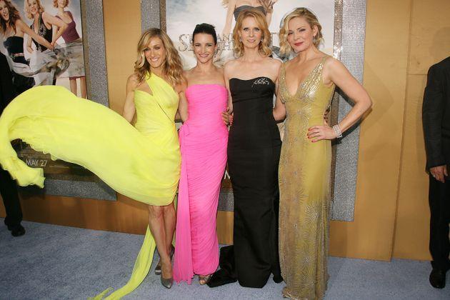 Sarah Jessica Parker, Kristin Davis, Cynthia Nixon et Kim Cattrall, héroïnes de