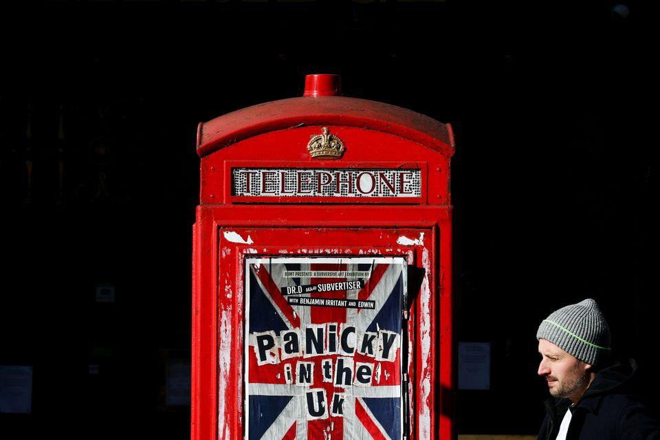 런던, 영국. 2020년
