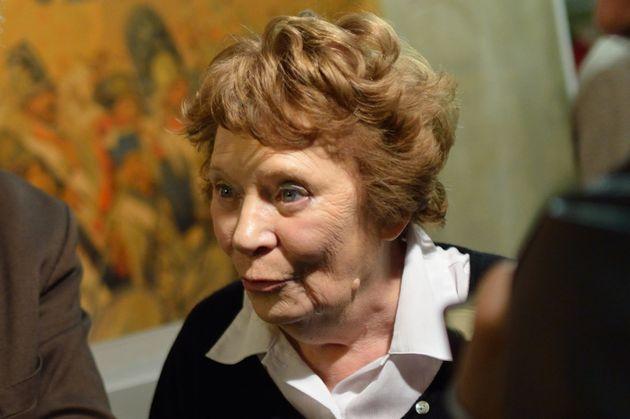 Liliane Marchais, ici en novembre 2012, est décédée jeudi 9 avril du coronavirus....