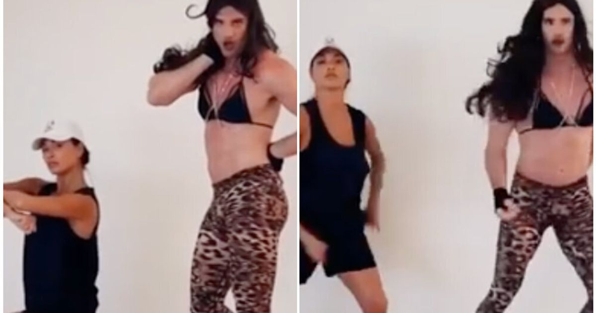 Thom Evans Serving Pussycat Dolls Choreography In Girlfriend Nicole Scherzinger's Bra Is As Glorious As It Sounds