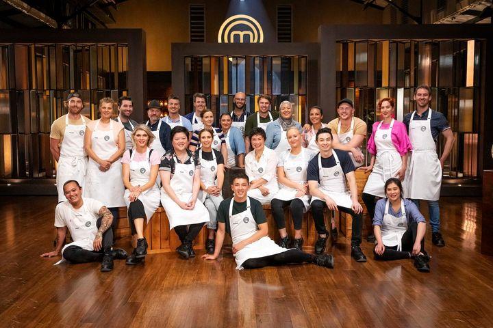 The cast of 'MasterChef Australia: Back To Win'