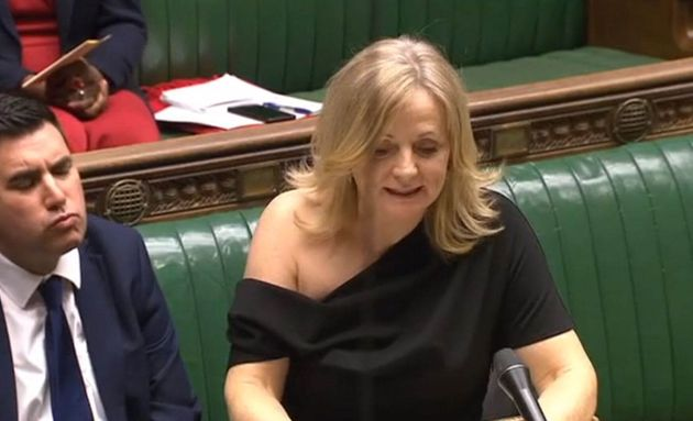 Tracy Brabin at work in the House of