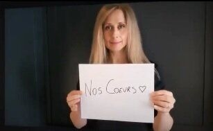 Lara Fabian réunit Eva Longoria et Nikos Aliagas dans un clip hommage aux