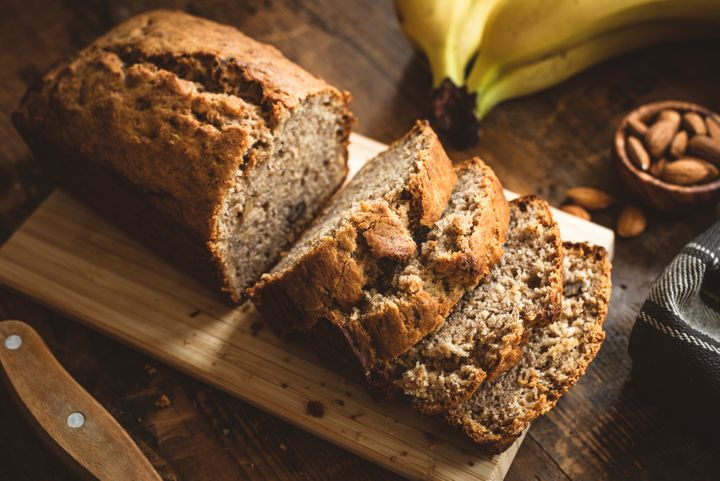 Banana bread doesn't require yeast to rise.
