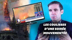 Incendie de Notre-Dame: David Pujadas raconte sa folle soirée sur