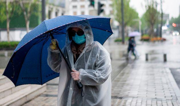 À Wuhan, ici le 10 avril, l'épidémie de coronavirus a fait officiellement 2500
