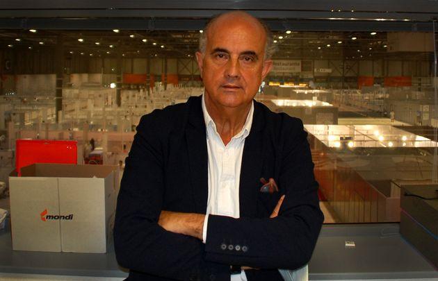 Antonio Zapatero, responsable médico del hospital de Ifema para pacientes afectados por la