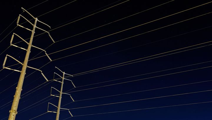 High-voltage power lines in Memphis, Tennessee. Toni worked for the Tennessee Valley Authority before being furloughed. Now s