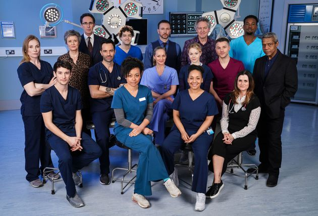 The cast of Holby