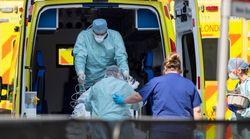 UK Coronavirus Deaths Increase 917 In 24 Hours To