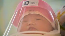 태국 한 병원이 코로나19로부터 신생아들을 보호하기 위해 준비한