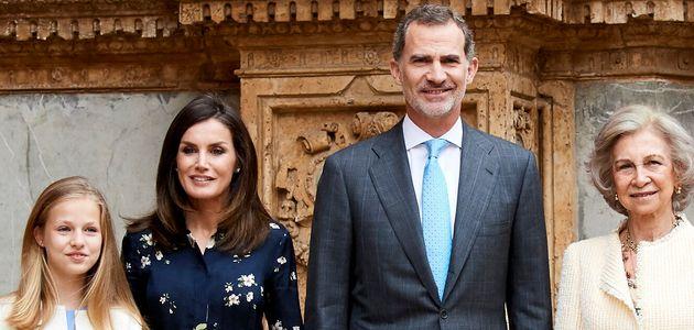La reina Letizia y el rey