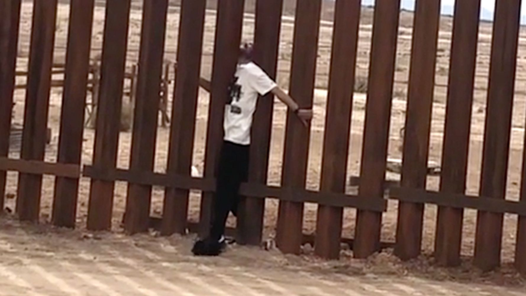 Magician Walks Through U.S.-Mexico Border Wall In 'Riskiest Stunt'