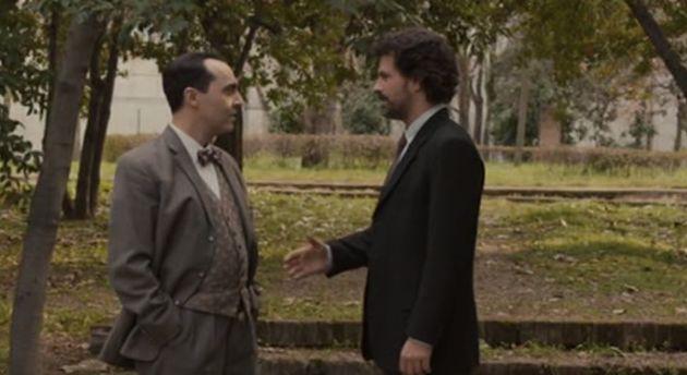 Federico García Lorca y Julián Martínez, en 'El Ministerio del
