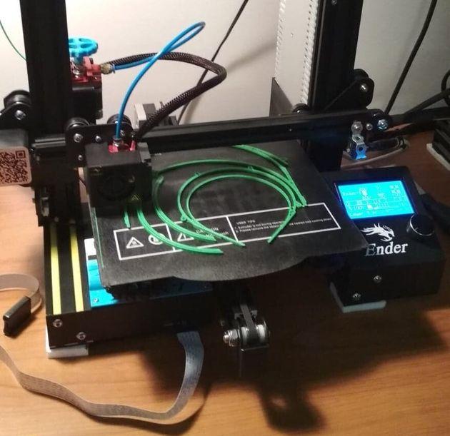 Ενας από τους 3D εκτυπωτές...
