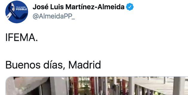 Tuit de José Luis
