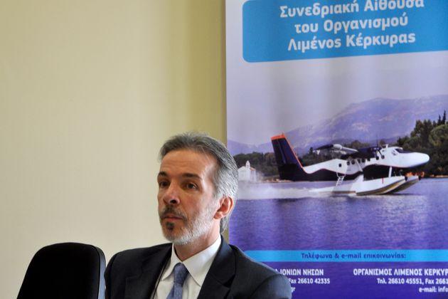 O Τάσος Γκόβας, πρόεδρος της εταιρείας «Ελληνικά