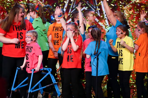 The act were awarded David Walliams' Golden