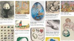 Privé de chasse aux œufs de Pâques par le confinement? La BNF propose de la faire dans ses