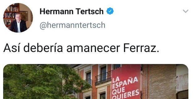 Mensaje de Hermann
