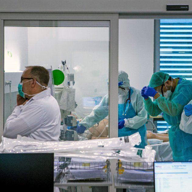 UCI en un Hospital de