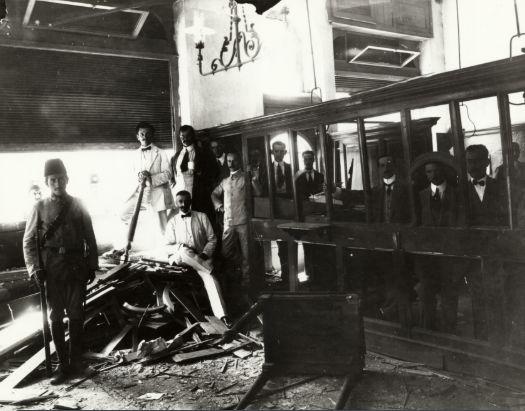 Η ανατίναξη της Οθωμανικής Τράπεζας το 1903 νυν Κρατικό Ωδείο