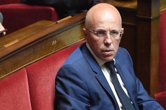Éric Ciotti, ici à l'Assemblée nationale le 16 juillet