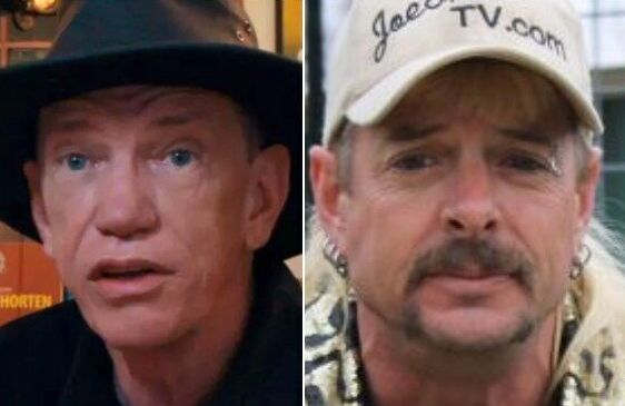 Rick Kirkham, left, is revealing some of Tiger King star Joe Exotic's worst