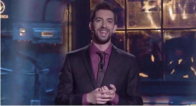 El presentador David