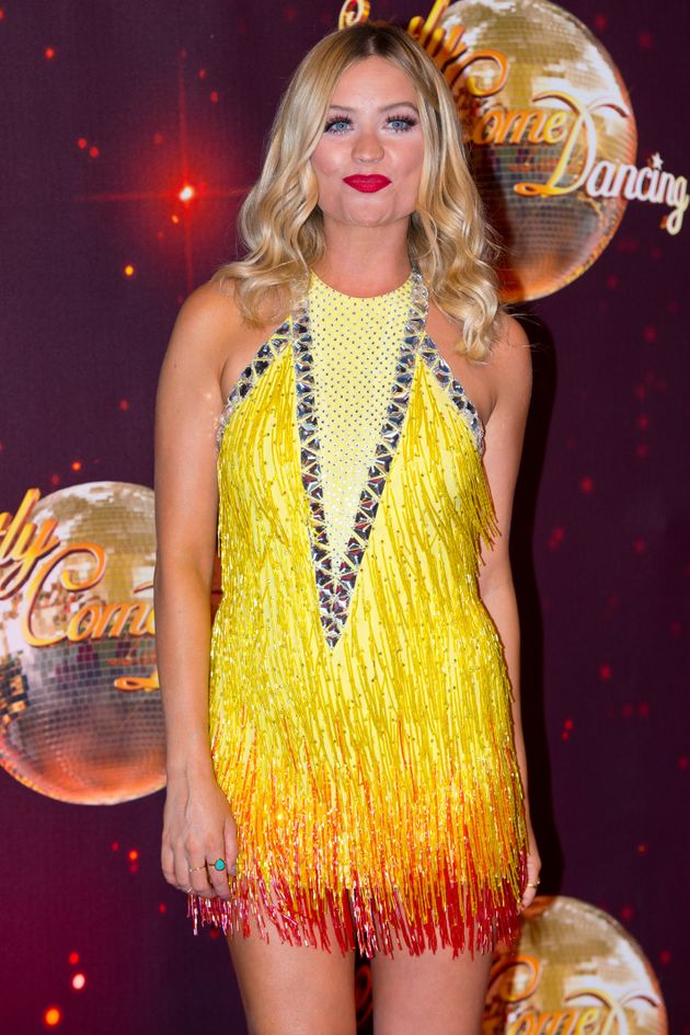 Laura Whitmore at the Strictly launch in
