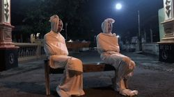 Coronavirus: In Indonesia, 'Ghosts' Are Making People Stay